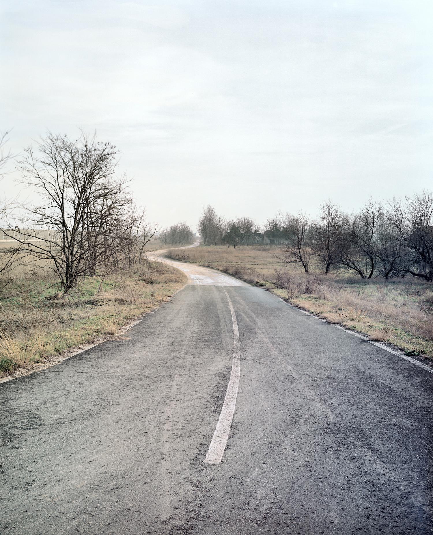 """The End of the Paved Road"" byHernád Géza"