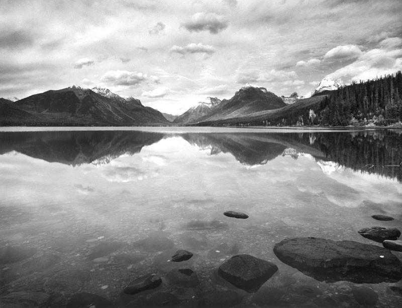 """Reflections, Lake McDonald, Glacier National Park, Montana"" © Alan Ross"