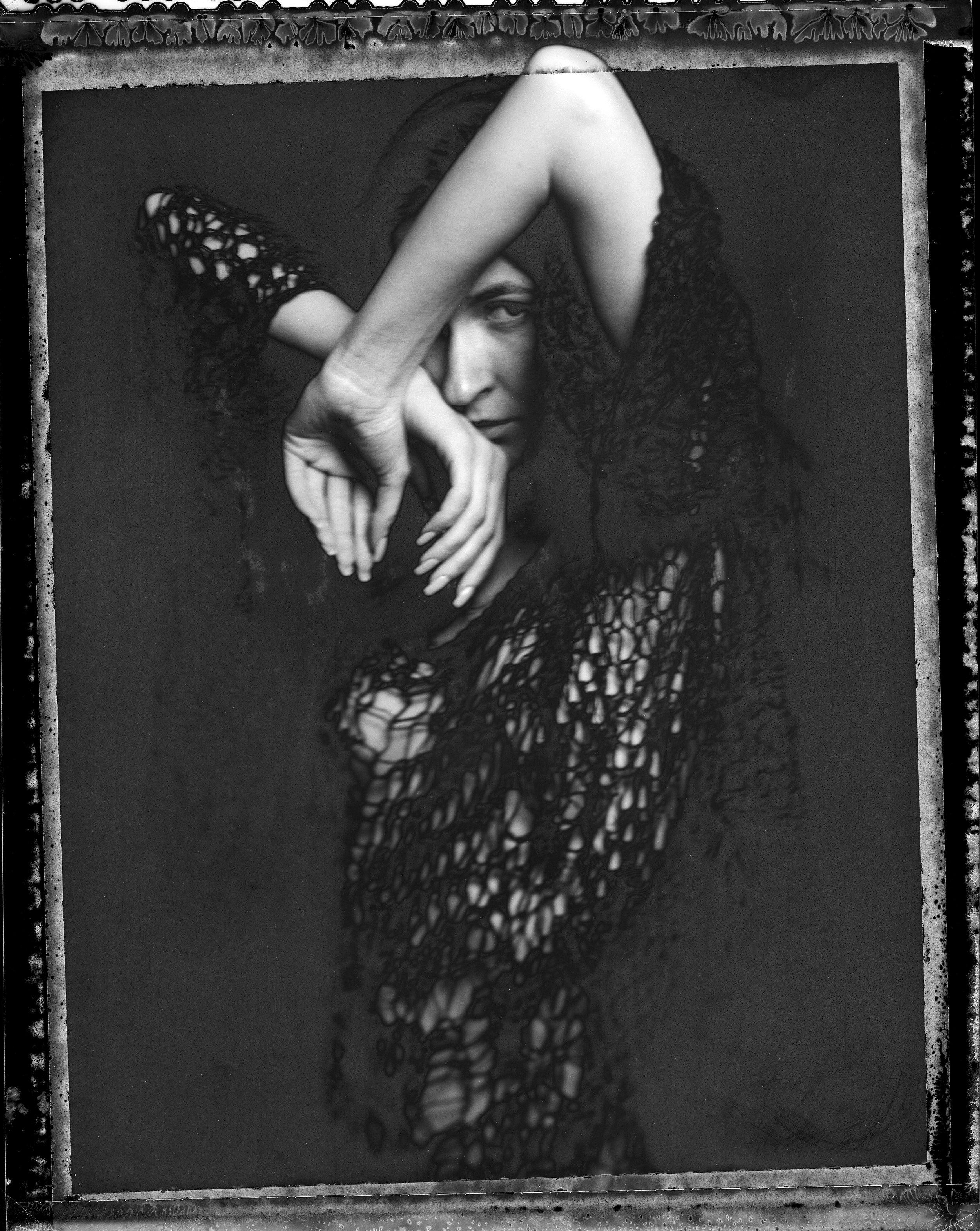 """N. on Polaroid 55 "" by Denis Peaudeau"