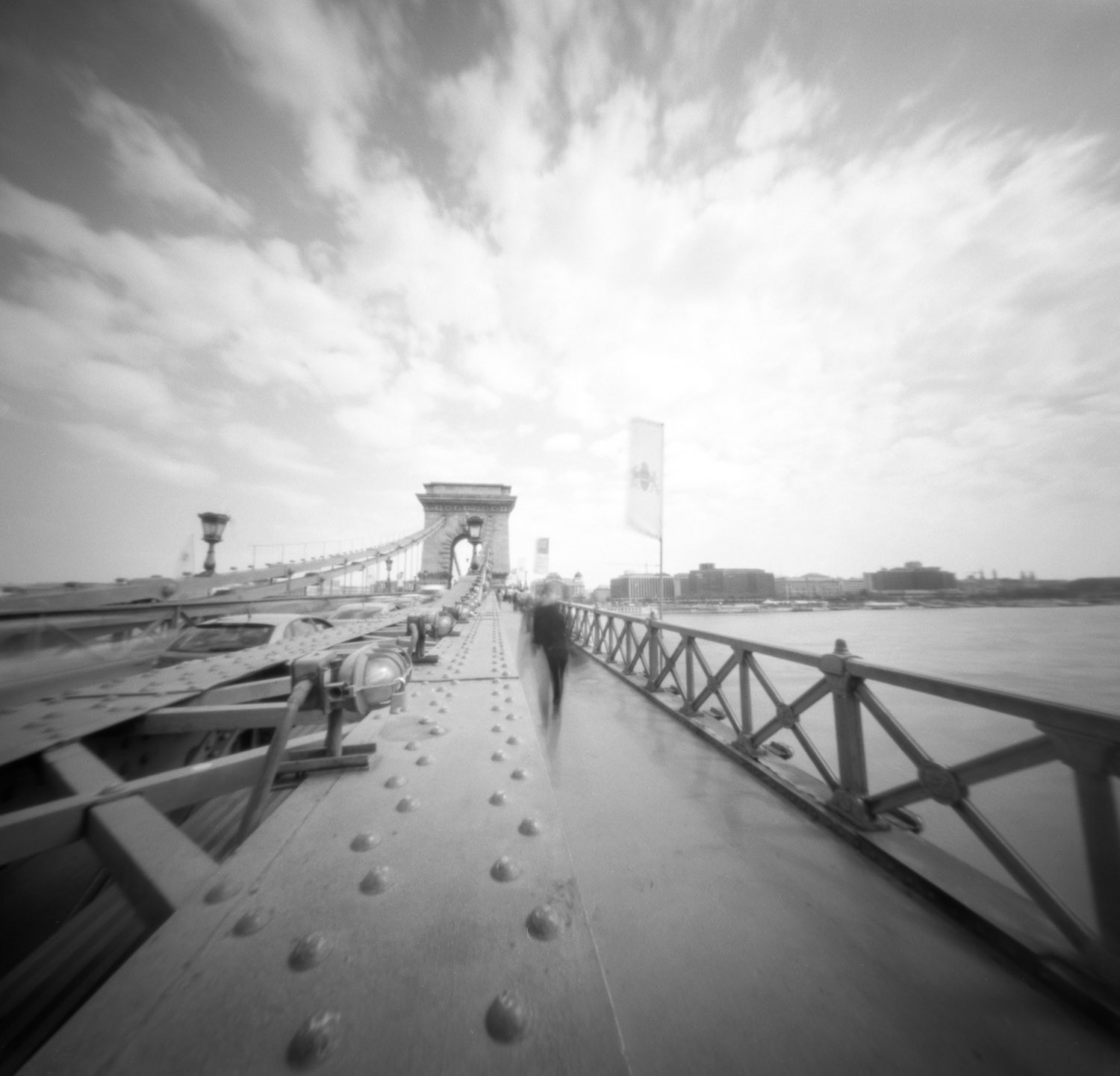 """Chain Bridge 2, Budapest"" by Bill Moy"