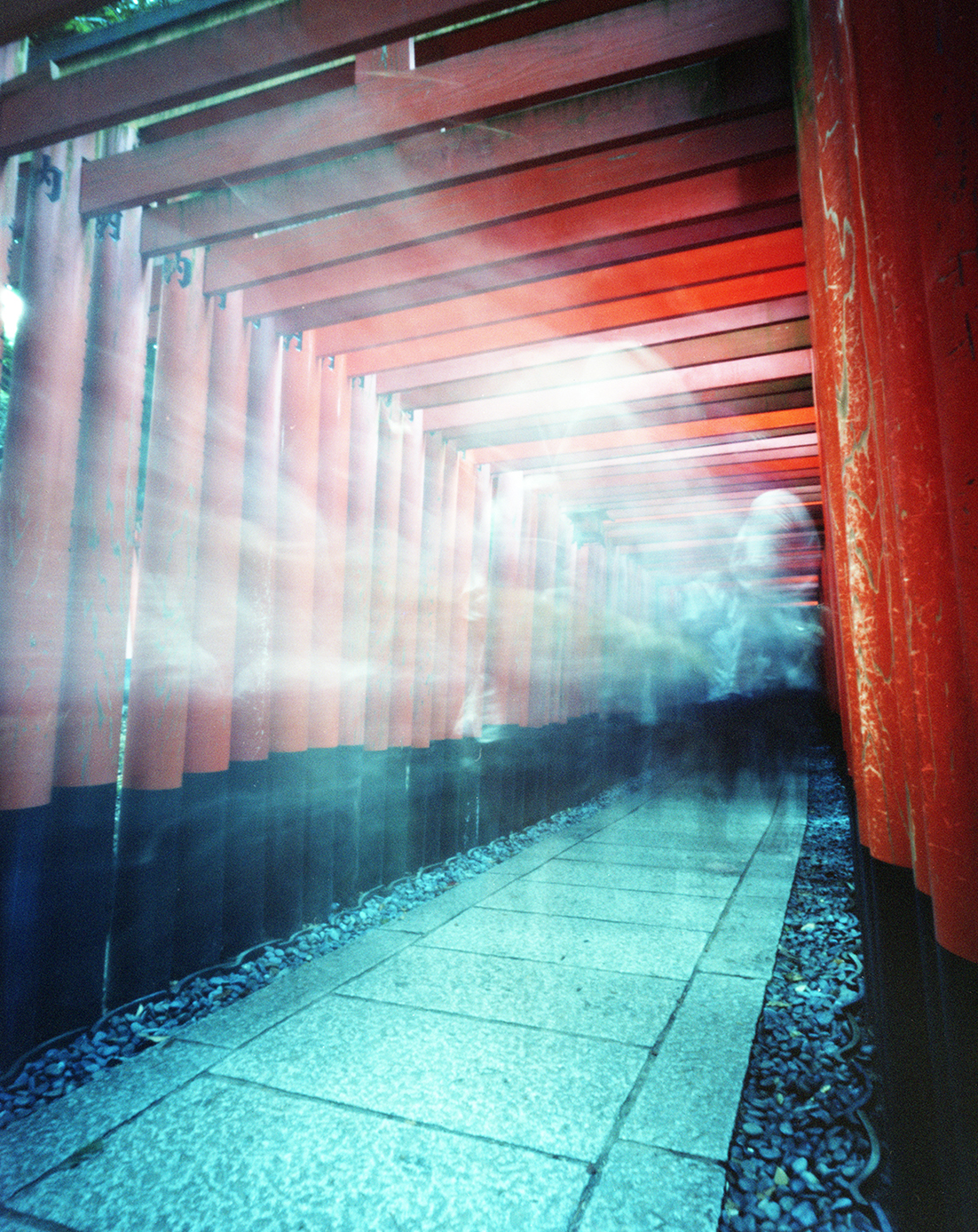 """Torii Gate Spirits"" by Owen Roberts 
