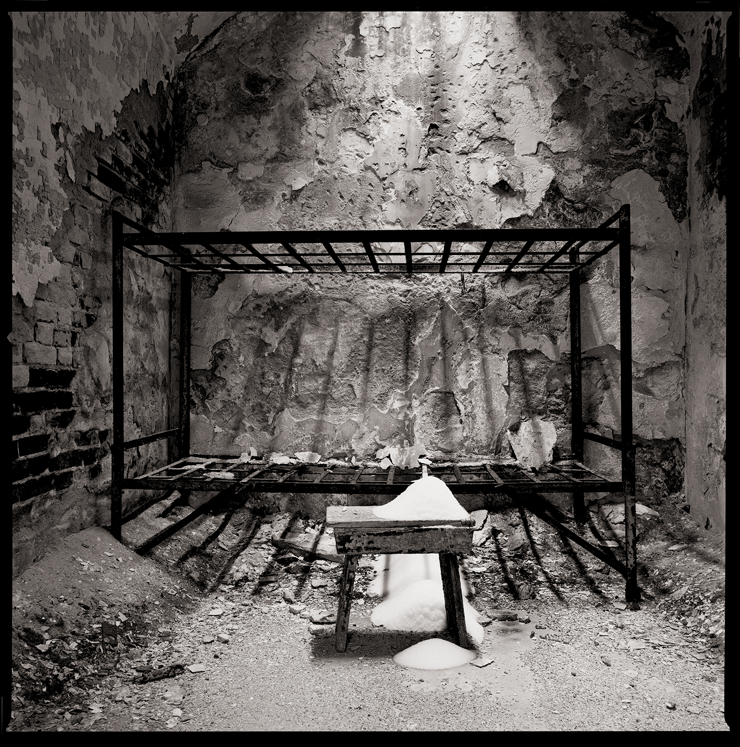 """""""Ashes"""" from the series  Thou Art…, Will Give…"""