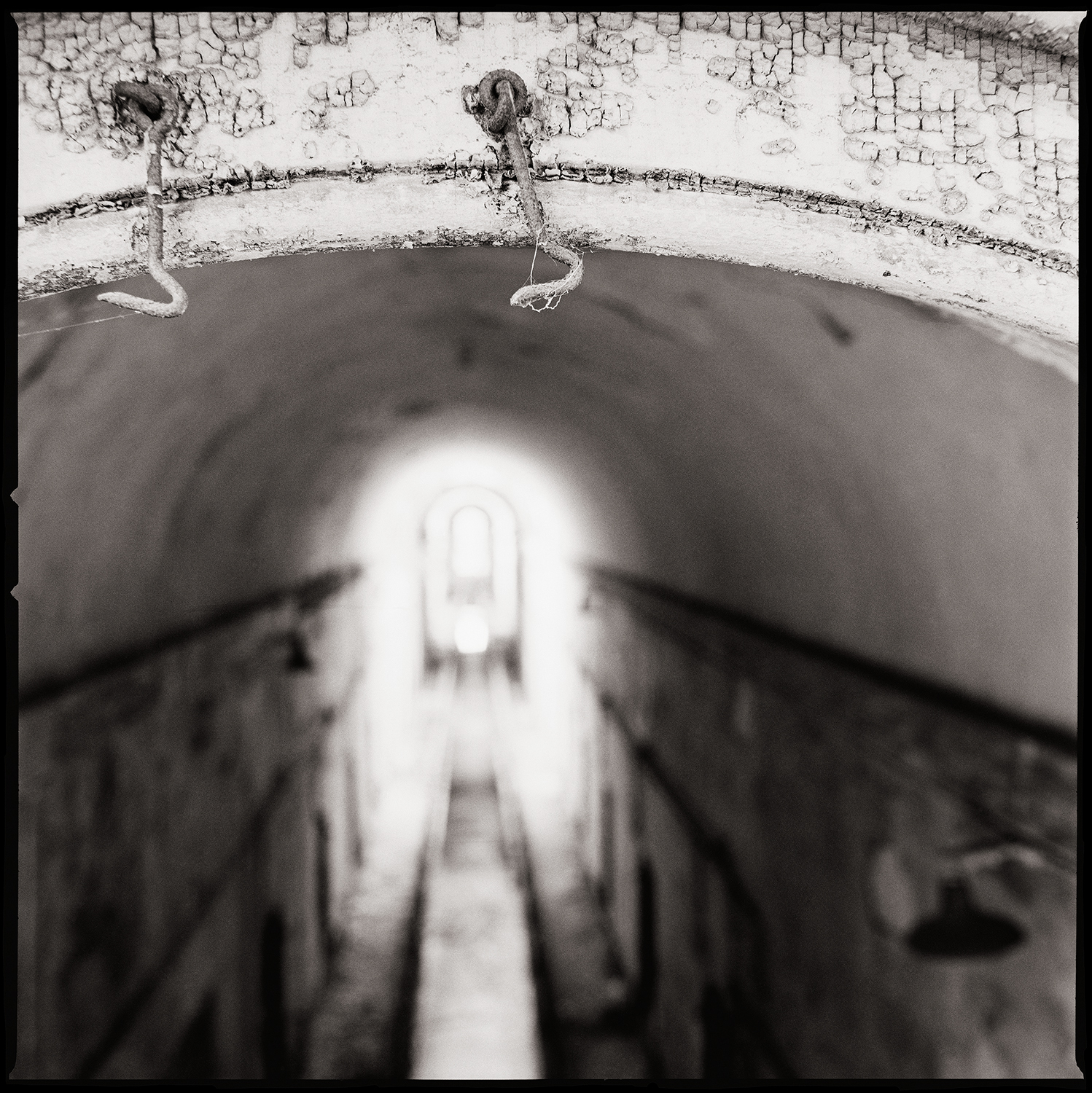 """'Cellblock 5"""" from the series  Thou Art…, Will Give…"""