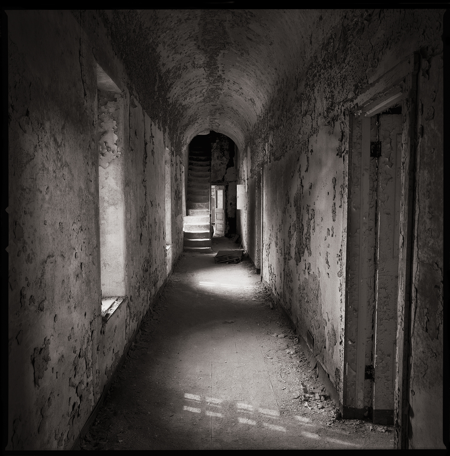 """""""Wardens Corridor"""" from the series Thou Art…, Will Give…"""