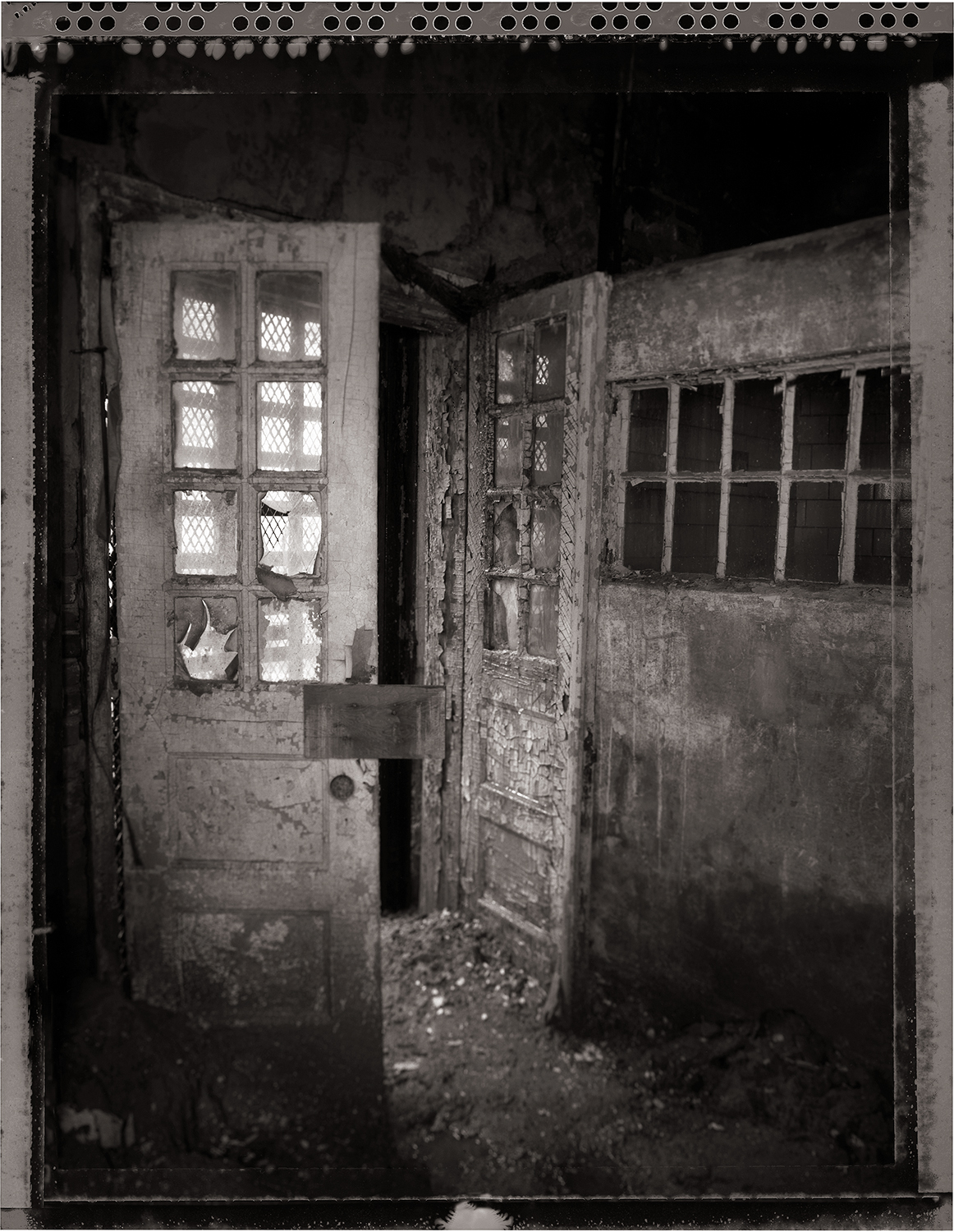 """""""Entrance to the Infirmary"""" from the series  Thou Art…, Will Give…"""