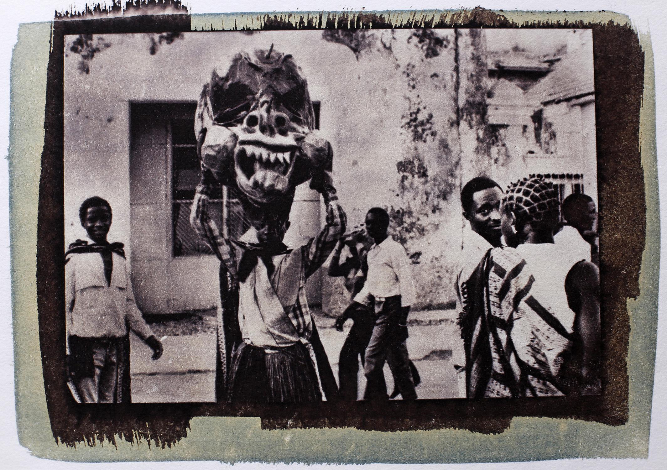 """Guinea-Bissau Carnival"" by Marie-José Durquet"