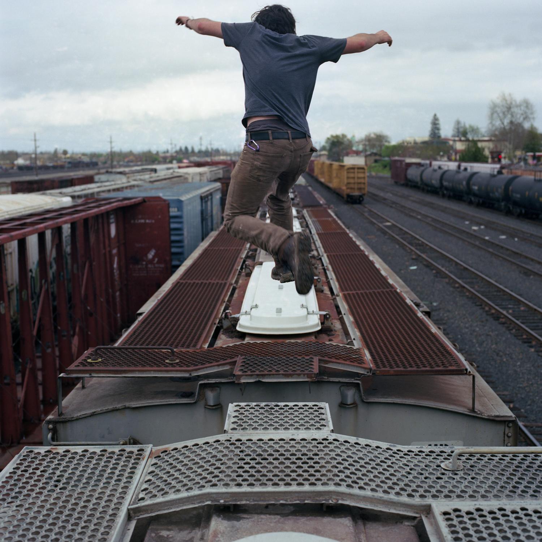 """""""Trainhopper"""" by William Mark Sommer"""