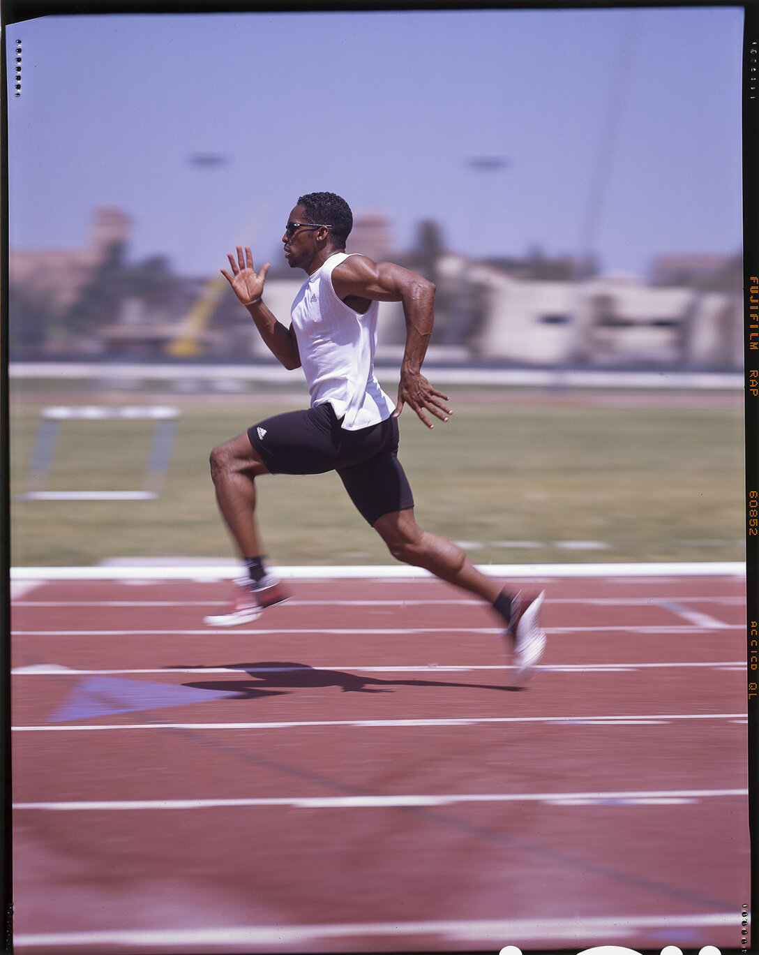 """""""Gold Medalist Olympian Ato Bolden"""" by Nelson Machin"""