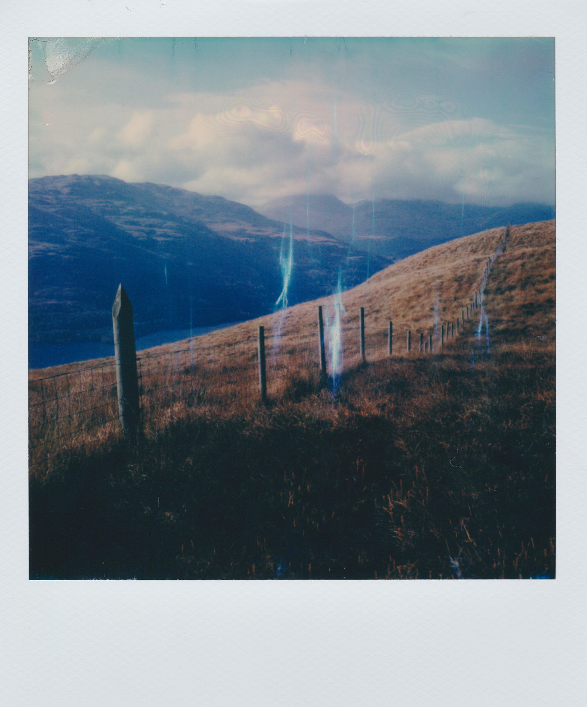 """""""Highland Fence Line"""" by Lance Trussel"""