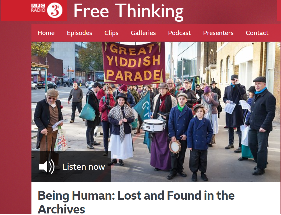 Queerseum on BBC3 Radio - Being Human Festival - Guest spot on BBC Radio3 Free Thinking: Speaking about our residency in Being Human Festival; University of London at Senate House and our Queer Museum campaign.More: https://beinghumanfestival.org/event/react-reimagine-finding-the-future-in-our-past-planning-permission-4/2017-11-22/