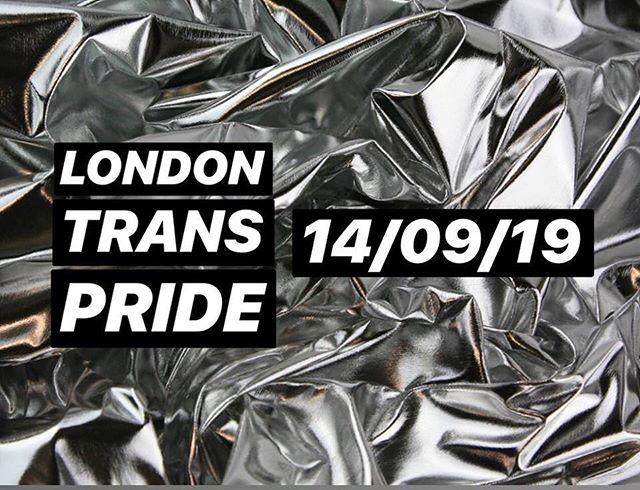 HAPPY TRANS PRIDE LONDON ✨