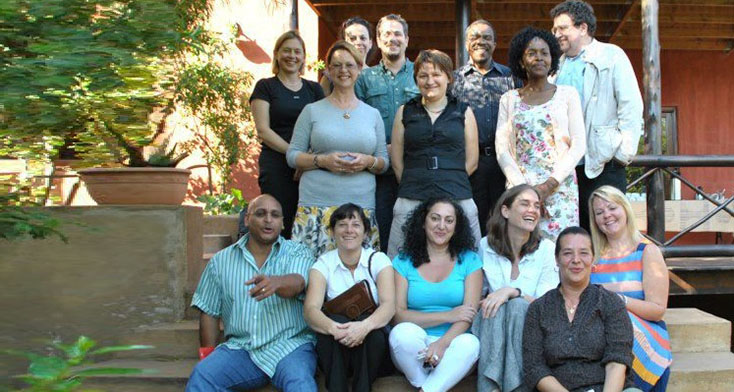 International community development practitioners in South Africa