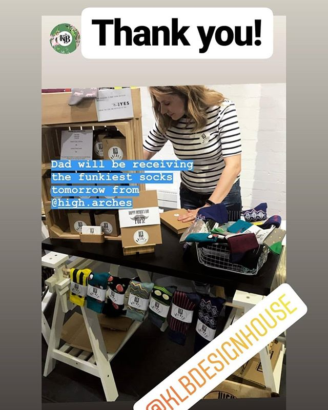 Ohh what a night!  Thank you to you lovely people for supporting the @thecrafthood_ @thoughtfoundation myself and all other traders, creators, artists, designers, makers, crafter's - creative minds and souls from the North East. I hope your Dad's will love their new socks 🙃🧦 I would defo give them to my dad  if he was around but might give them to mum instead.. 😉 Sending all my love to you all, local business was thriving last night. ( I didn't even take a pic, thank you Katie from @klbdesignhouse). Thank you to organisers for doing the hard work behind the scenes. See you next time 🙂 Happy Father's Day to all dad's out there!