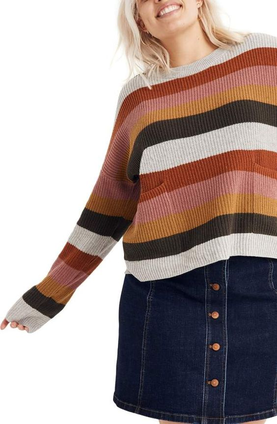 madewell - Patch Pocket Pullover Sweater$75