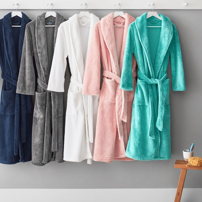 The PB Teen Classic Robe - It's long, it's incredibly comfortable and it's here to make your mornings lovely.