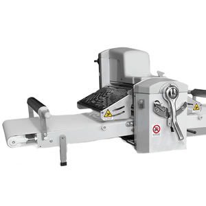 Table Top Reversible Dough Sheeter - Our Table Top Reversible Sheeter is built on the same rugged design as our free-standing models yet come in a small package that is easy to add to any micro-bakery or food service establishment.Built with an eye on sanitation and ease of use this small sheeter will be an integral part of your bakery for years to come.