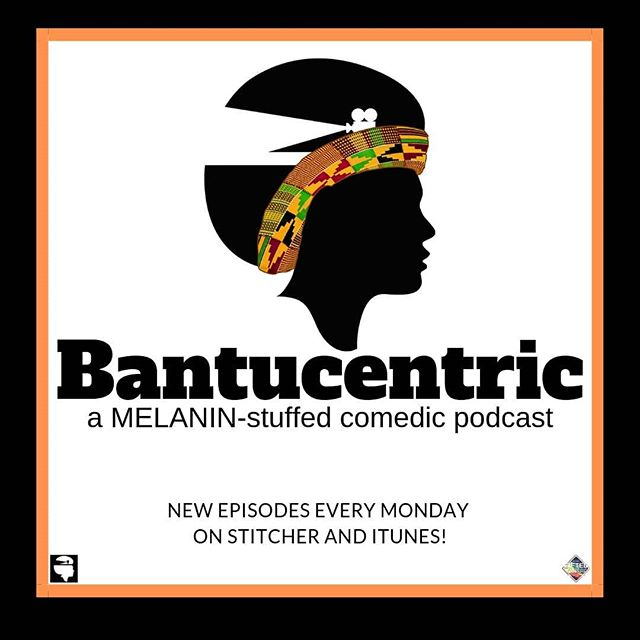 @mbaku_rivers and @cheyproductions host Bantucentric! A MELANIN-stuffed comedic podcast!  New epsiodes every week! Hosted by @giftedsounds