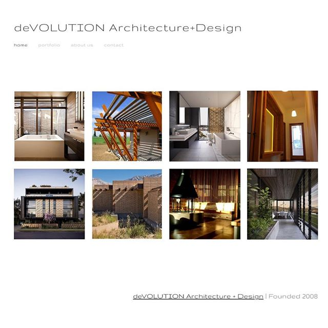 We've been working on a new website. Go check it out!! de-volution.com #de_volution #moderndesign #luxe #modernarchitecture