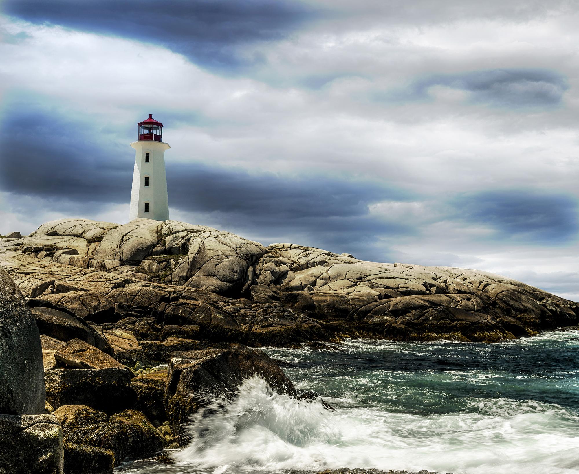Peggy's Cove in Nova Scotia, Canada.
