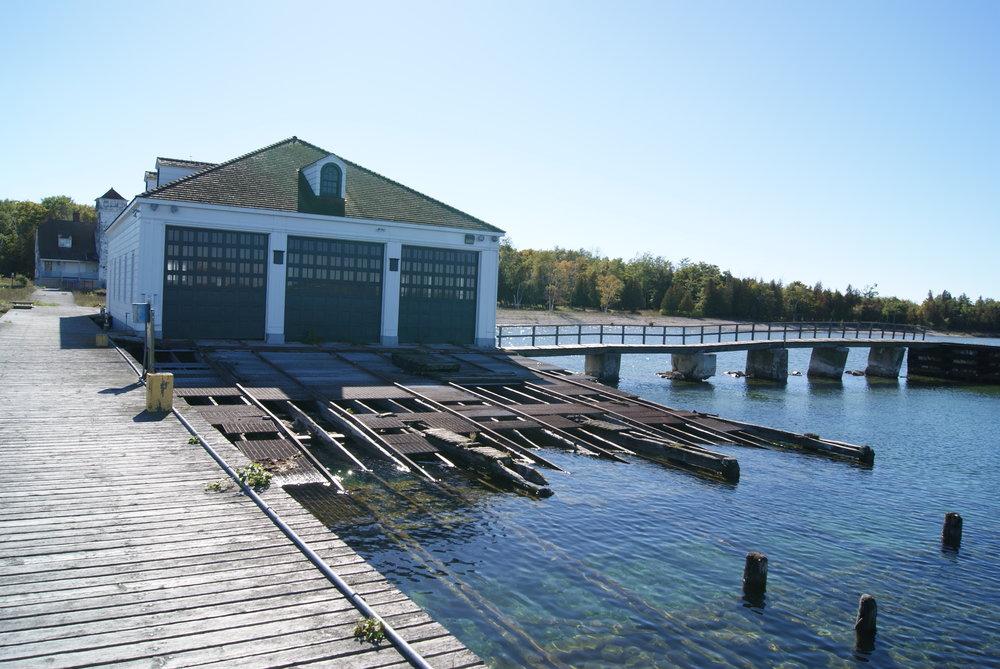 Plum Island Boathouse