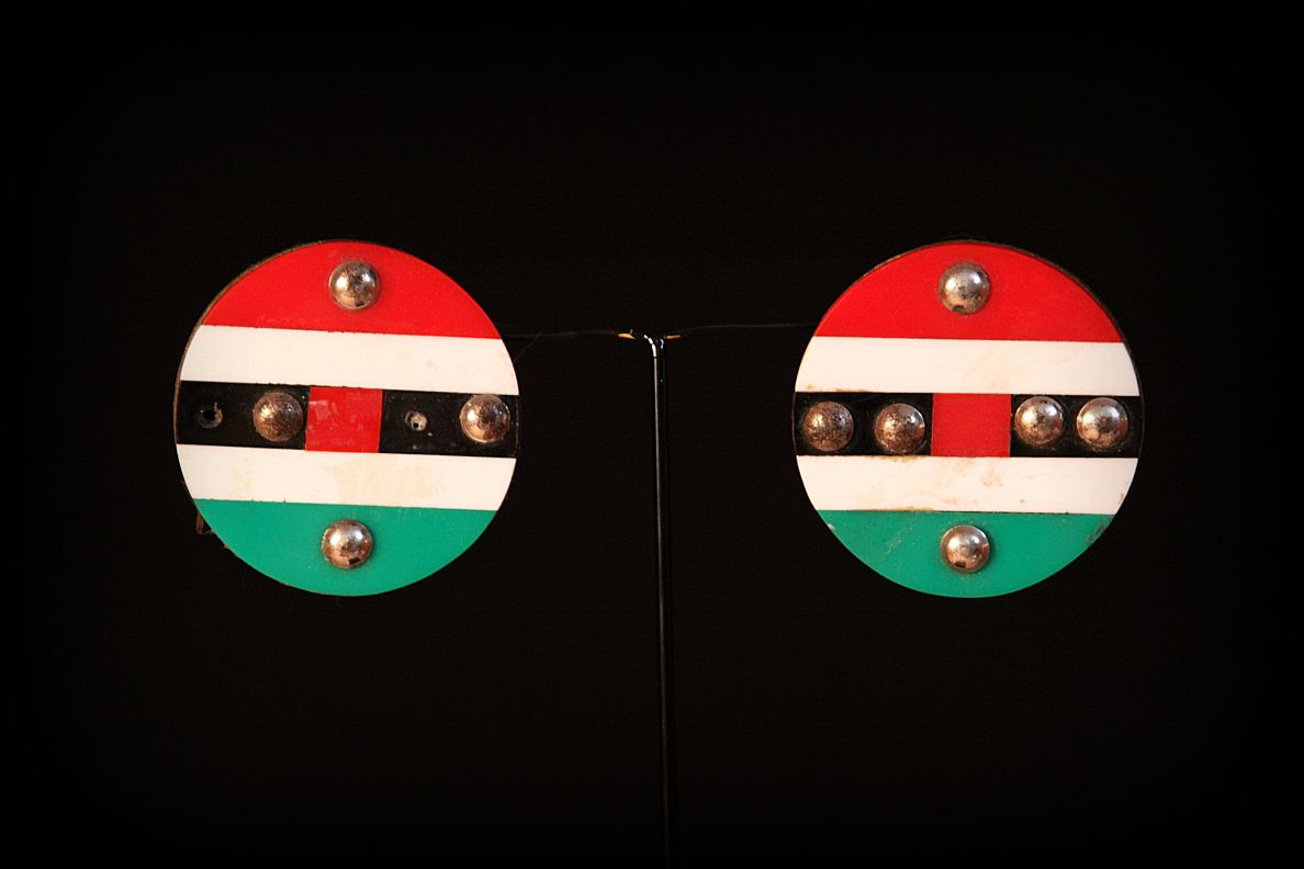 Late 20th Century Zulu Tribe Ear Plugs. Zulu Tribe. KwaZulu Natal Province in South Africa.jpg