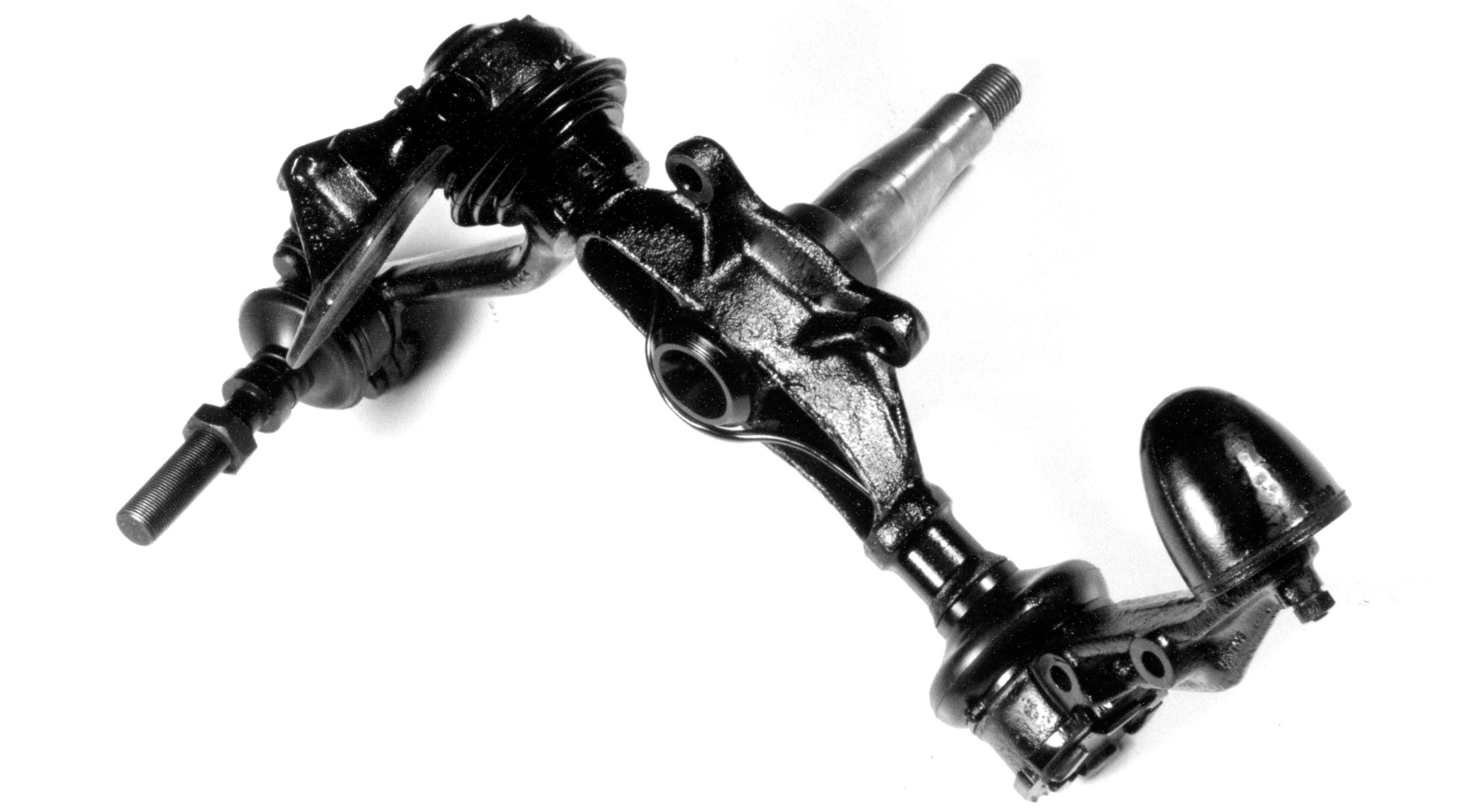 Lagonda stub axle assembly