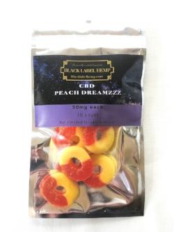 Peach Dreamzzz - CBD Peach Rings
