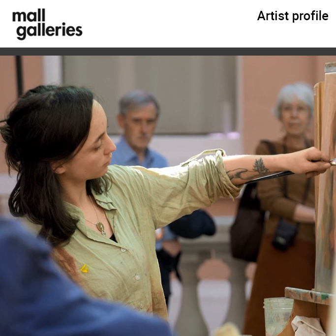 the chance to have 'my artist profile' on their online explorer