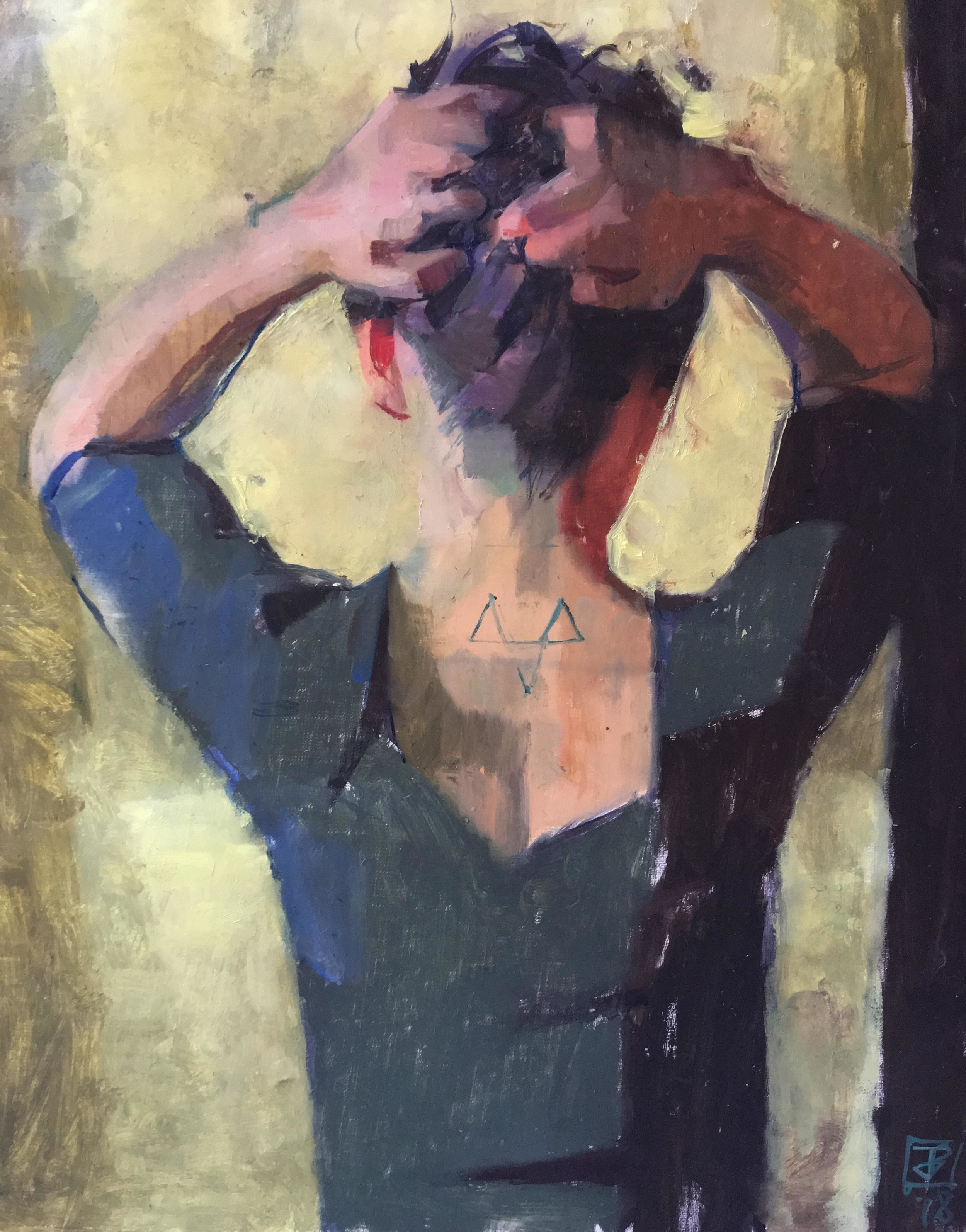 Peint par James Bland, une chance