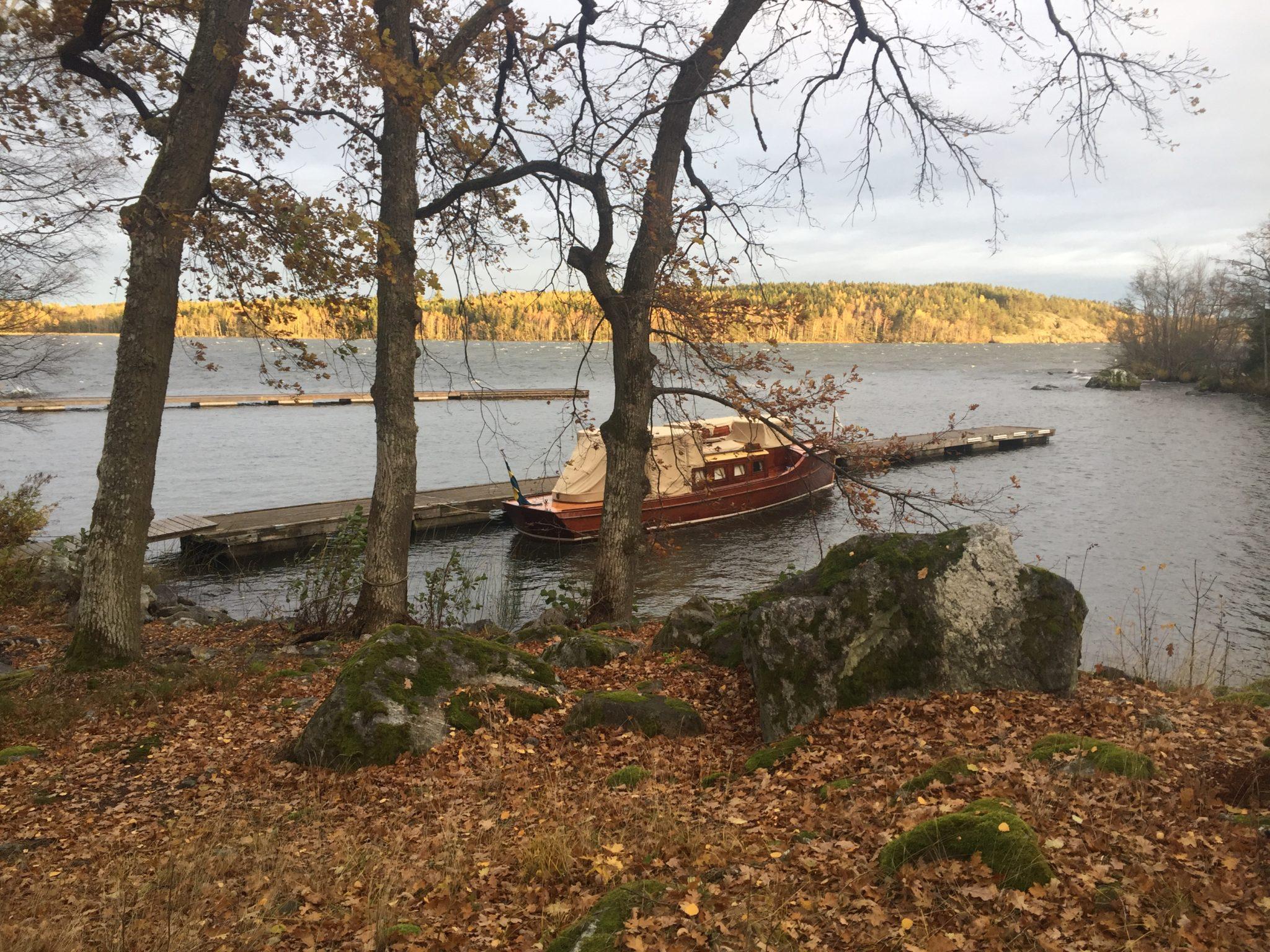 Blåsdag blev liggedag på Hagskär.