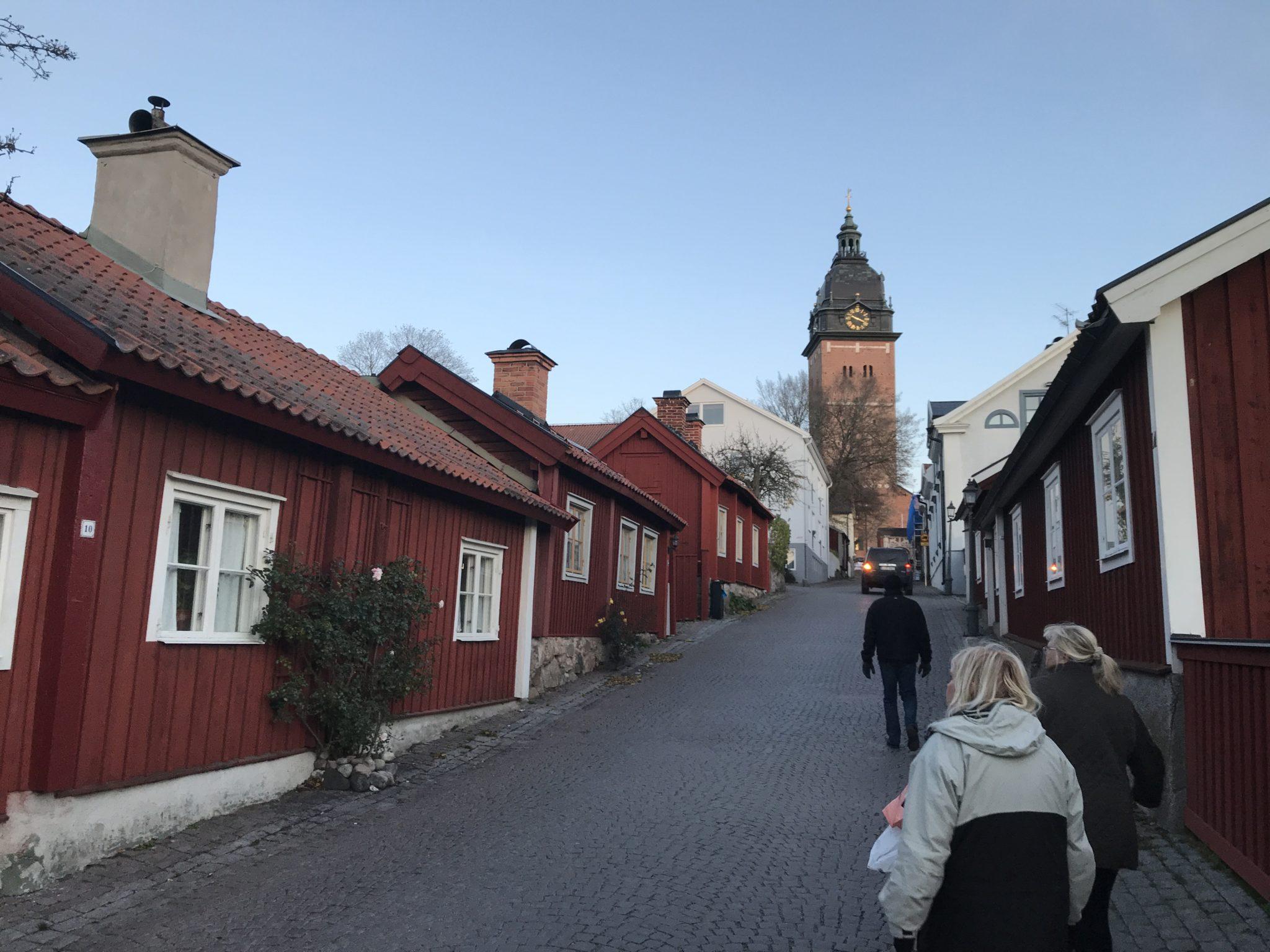 Stadspromenad i Strängnäs.