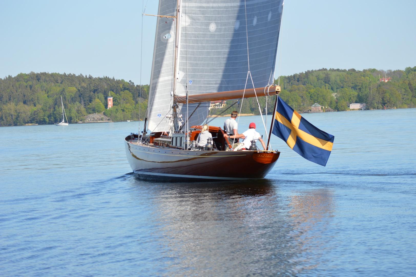 Vårrustad o grann direkt ifrån Kungsörs båtvarv.