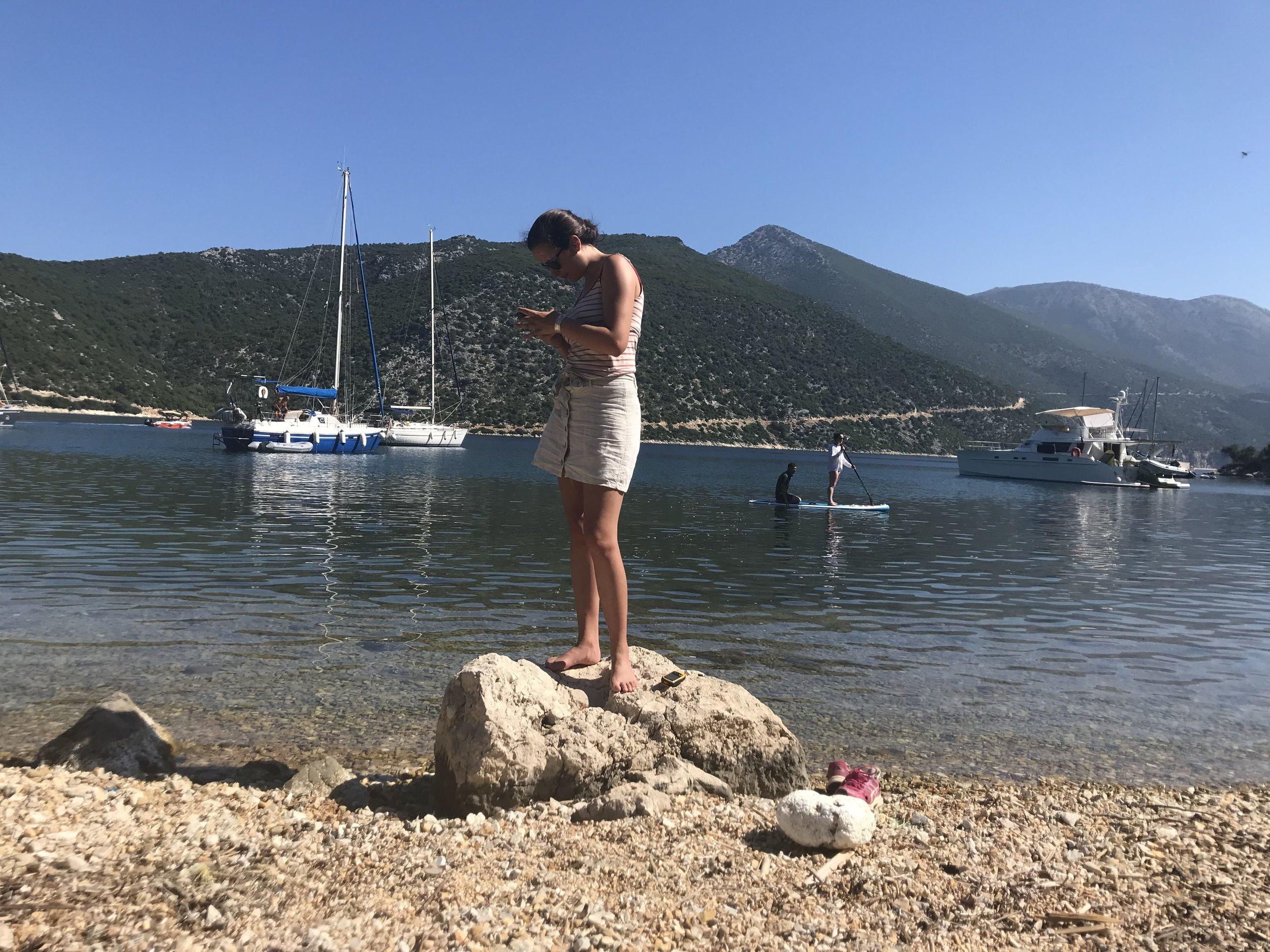 Ekomatkaajat Kreikka luonnonsuojelu.JPG