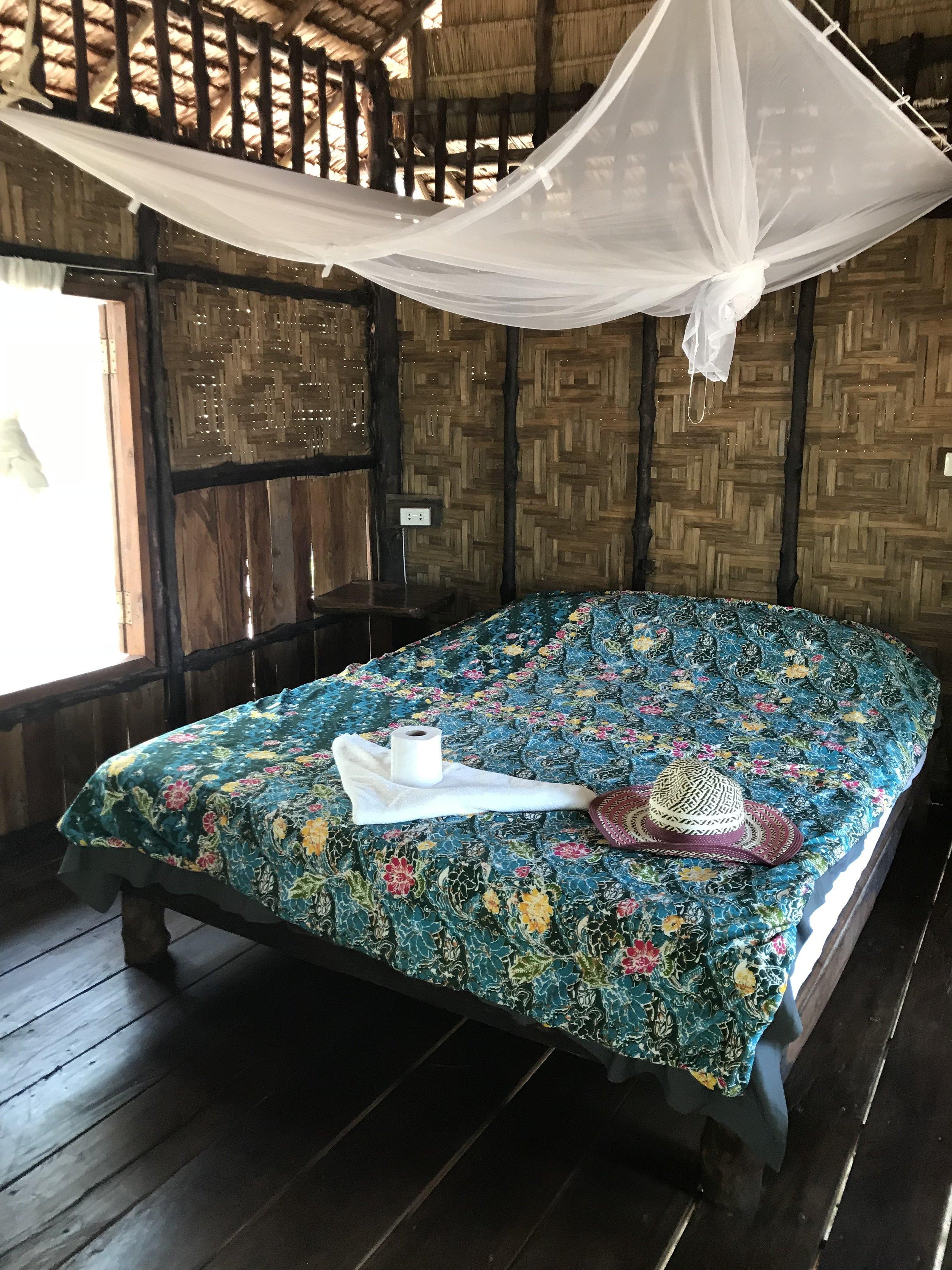 Tasokkaampi bungalow majoitus (lisämaksusta)