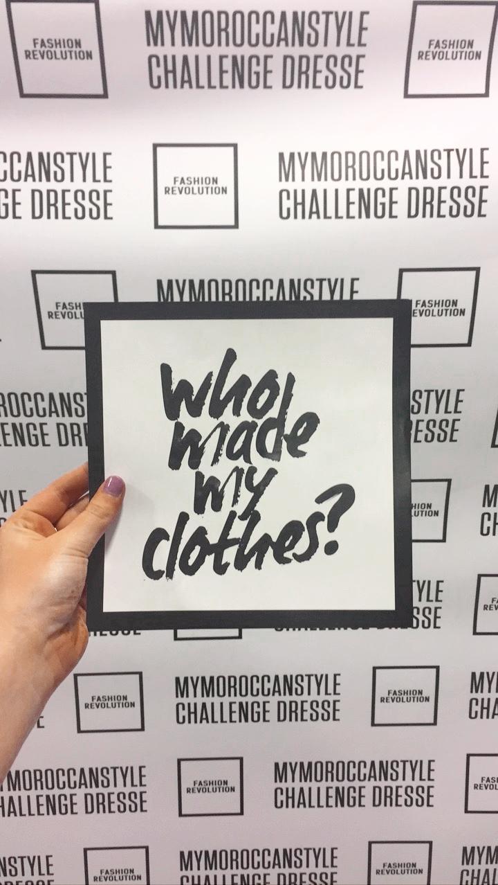 Fashion Revolution Morocco