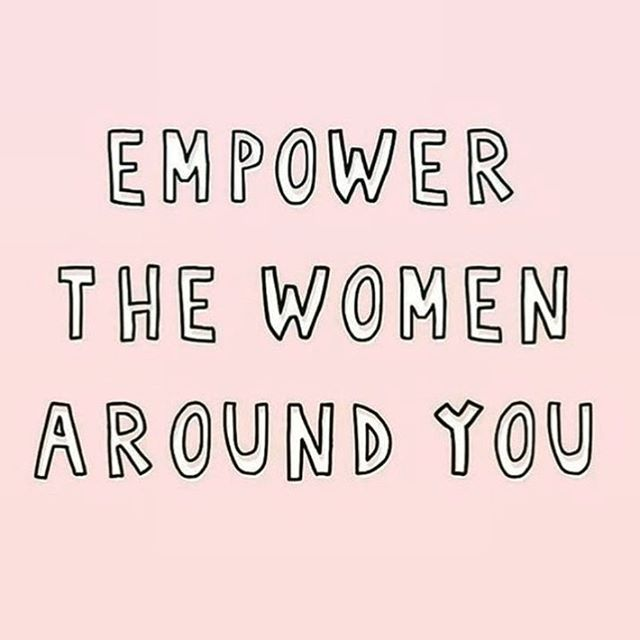Always, always, always 💪💕👭 Strong sisterhood is so important in lifting our communities up! How are you celebrating #internationaldayofthegirl ?