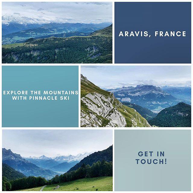 EXPLORE the remote Aravis mountain range with Pinnacle Ski 💙 • • • • #thealps #mountains #aravis #remote #hiking #walks #pinnacleski #luxurytravel #travelling #exploring #holiday #winteriscoming