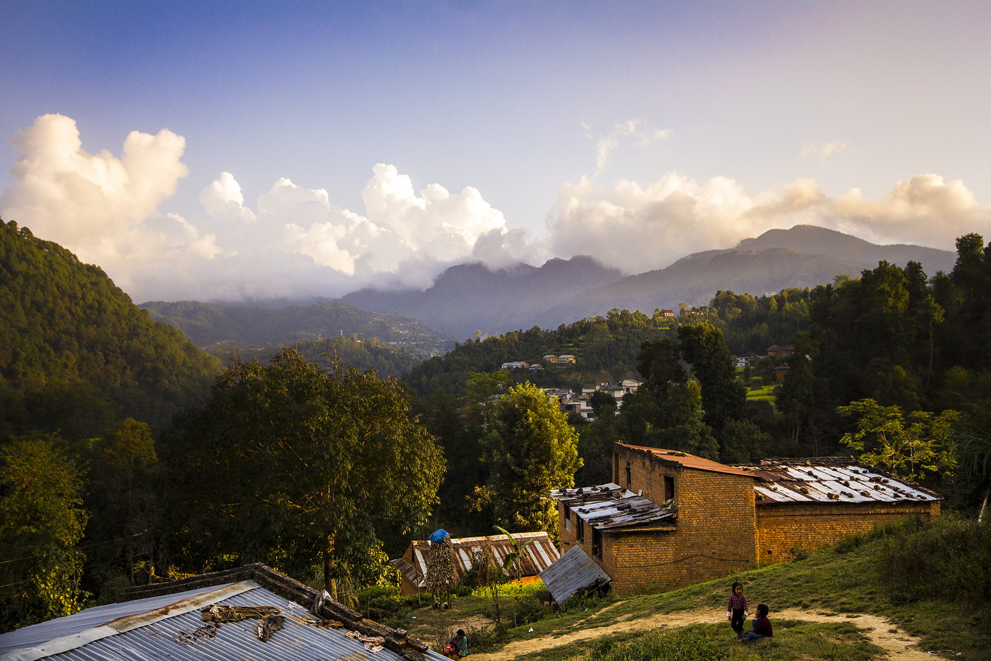 Nepal Expedition Part 2 - In the morning we set off for the Shree Ganesh Primary School in the Kathmandu valley. As we bounced around the rocky terrain in the mini bus we were all taken in by the fantastic landscapes that Nepal had to offer, from the vast mountains to its stunning farm land.....