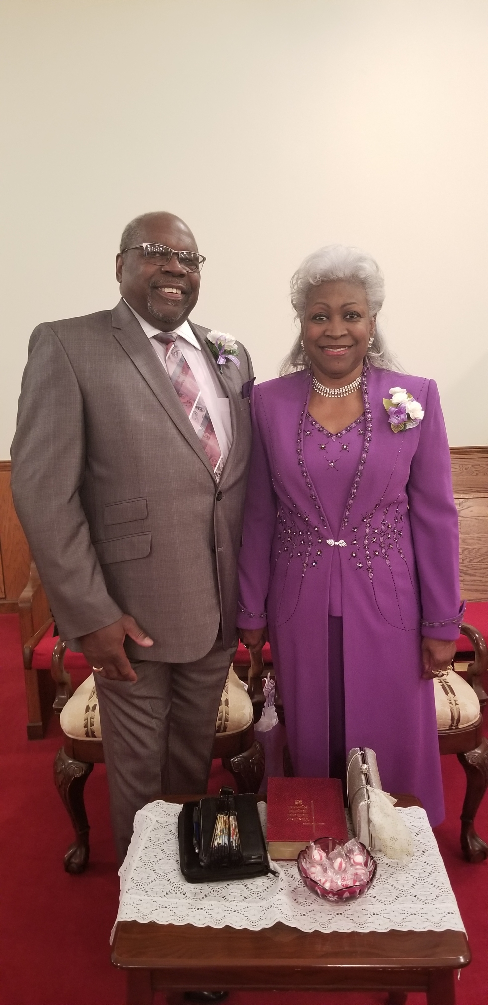 Pastor Jimmy Waddell and First Lady Paulette Waddell