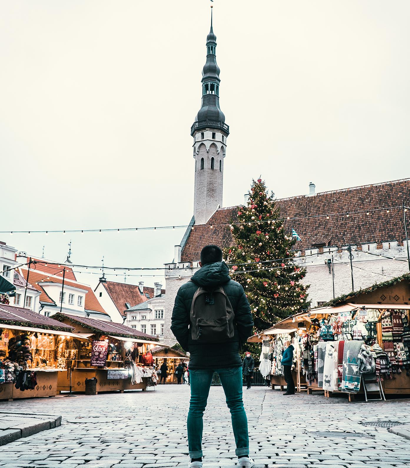 Tallinn Old Town - Christmas Market