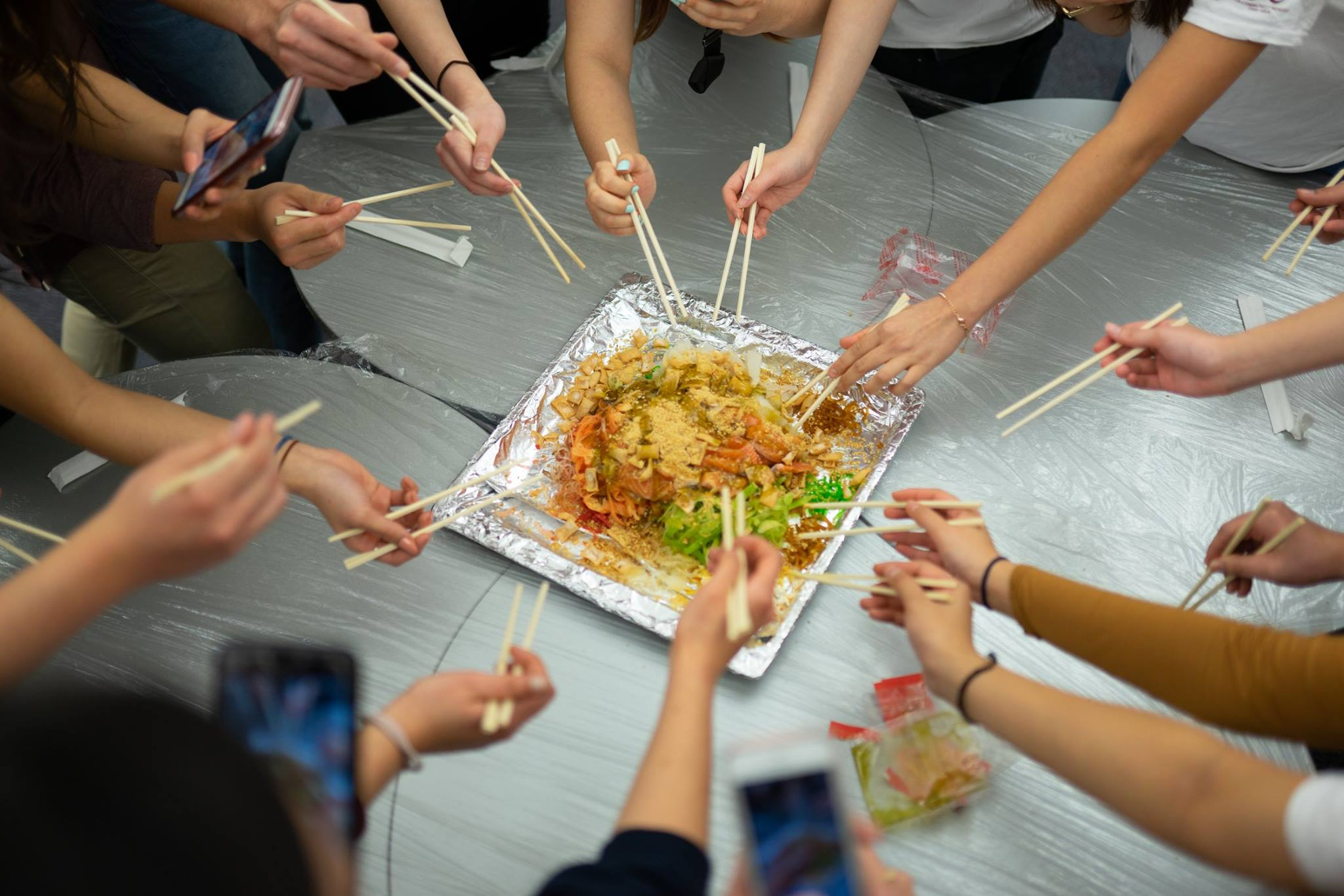 "A ""Messy"" Start - Lo Hei"