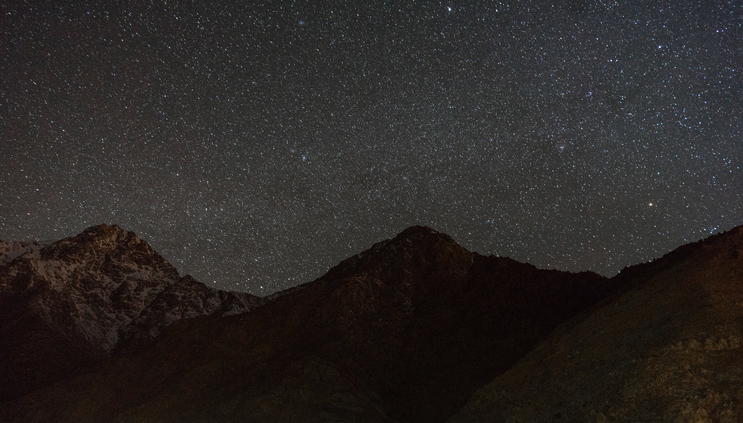 Starry Nights - In Atlas Mountains