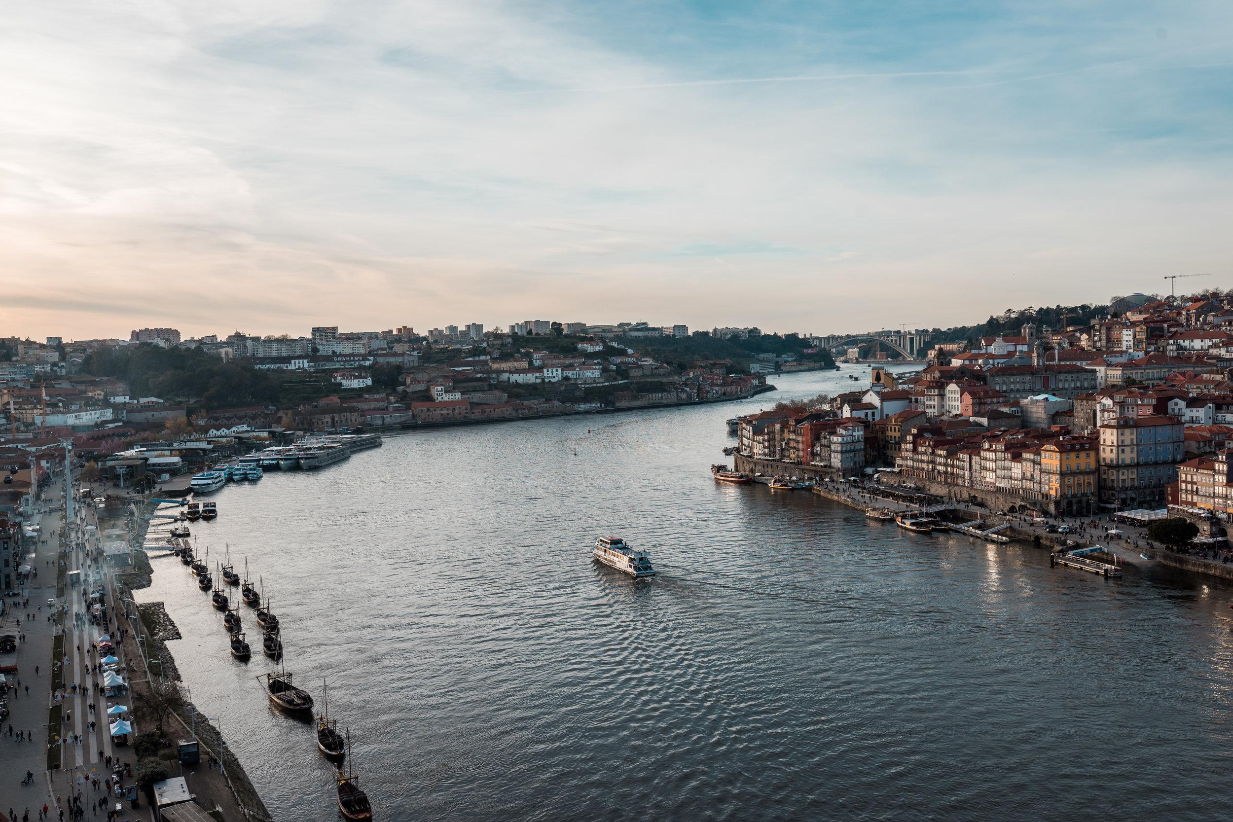 Sunsets in Porto - Luis I Bridge