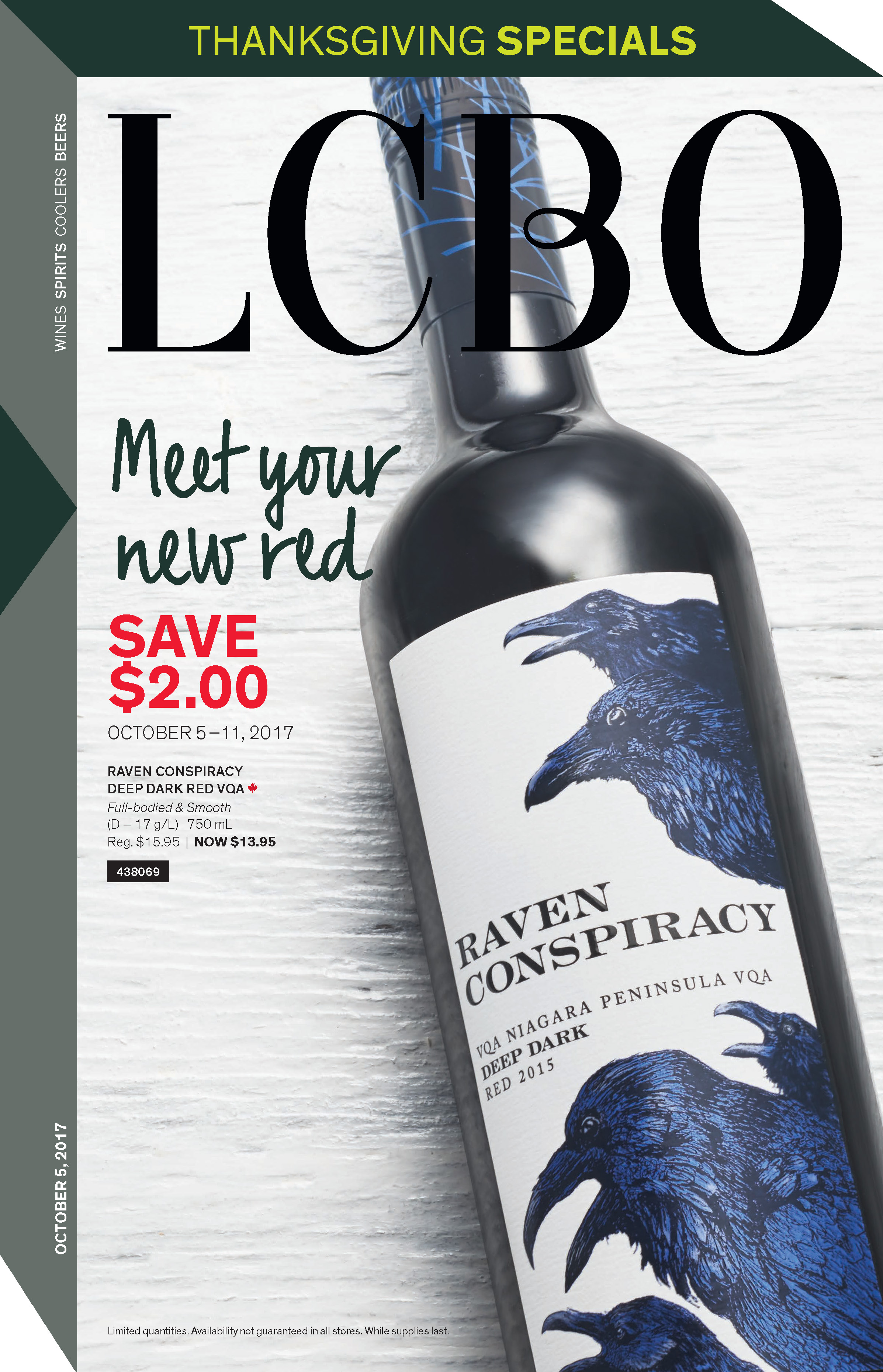 """LCBO : Sale flyers, in-store signage and point-of-purchase """"shelf-talkers"""""""