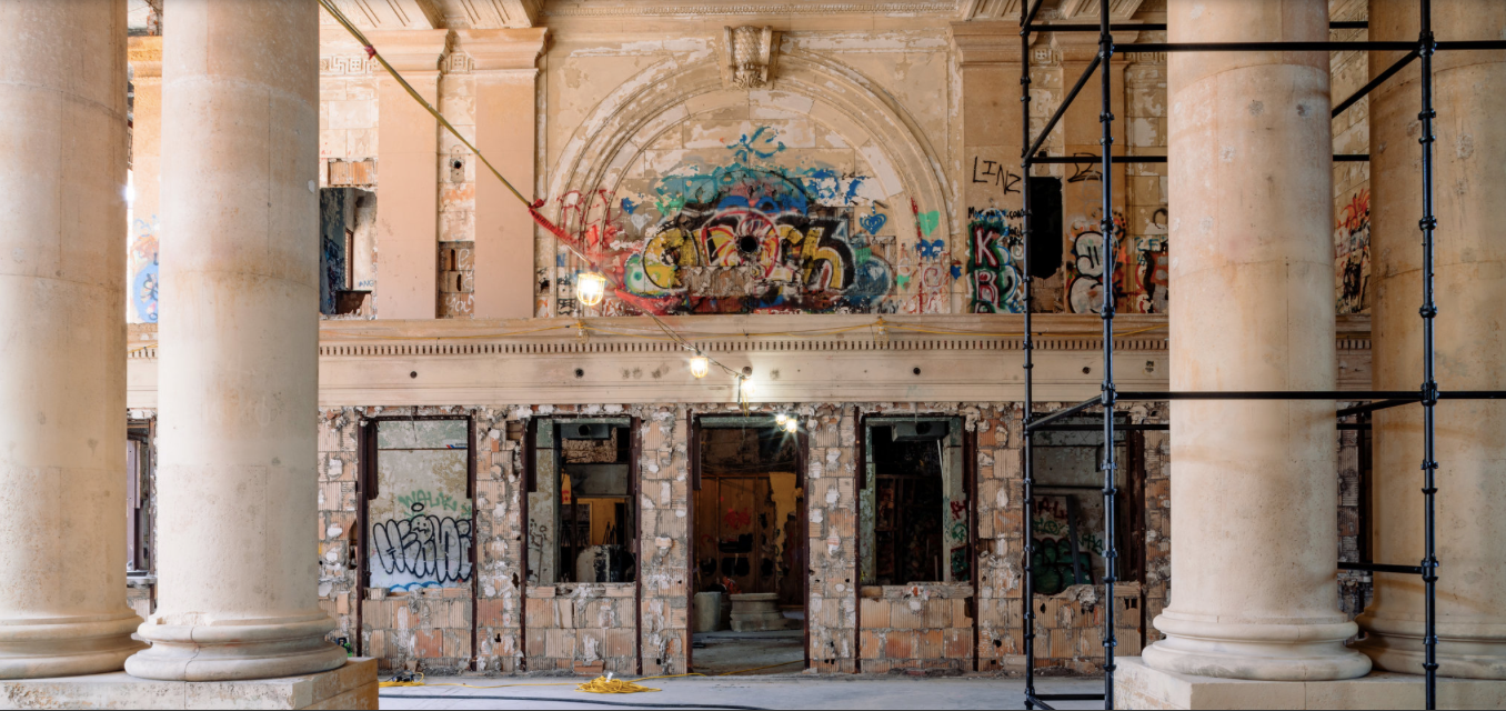 Michigan Central Train Depot, Detroit, Michigan. Click through for  Ford Aims to Revive a Detroit Train Station, and Itself by Neal E. Boudette.