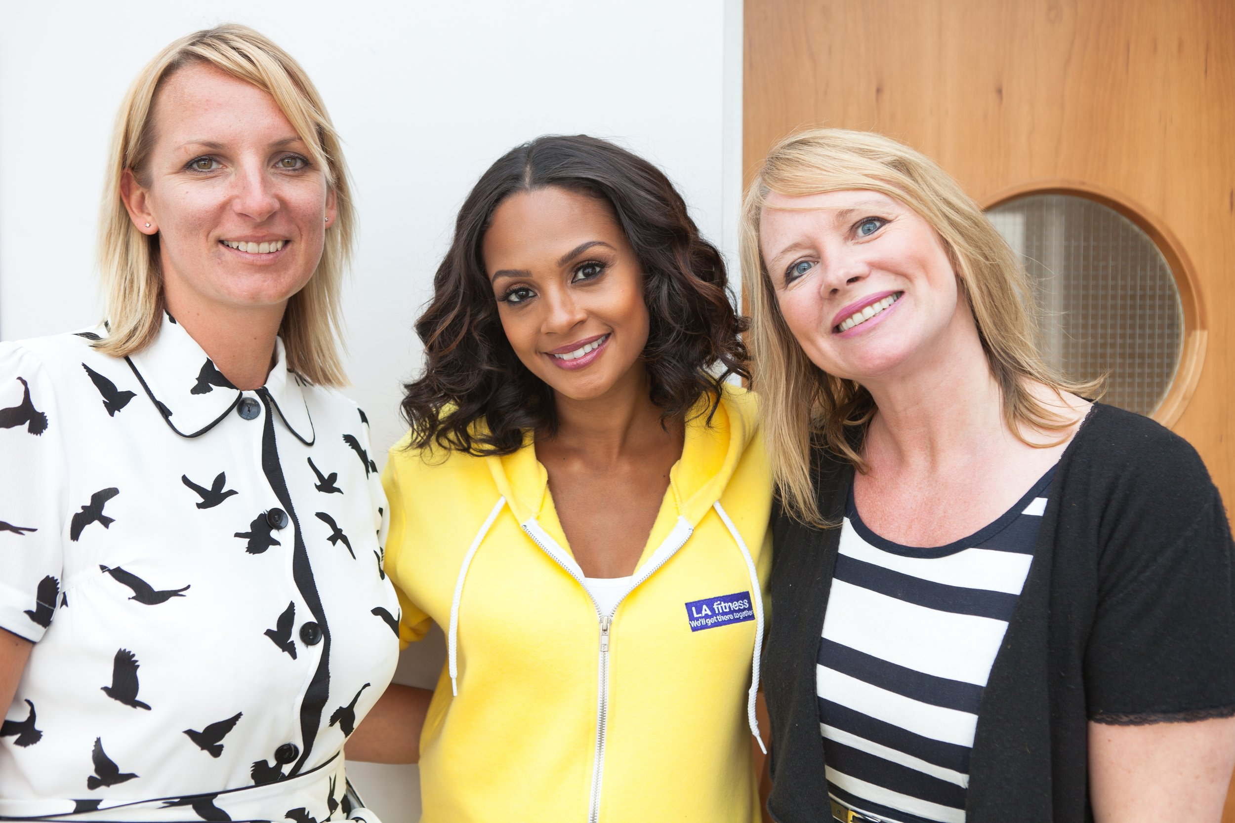 Sue and Kerry Alesha Dixon Orpington Club opening.jpg