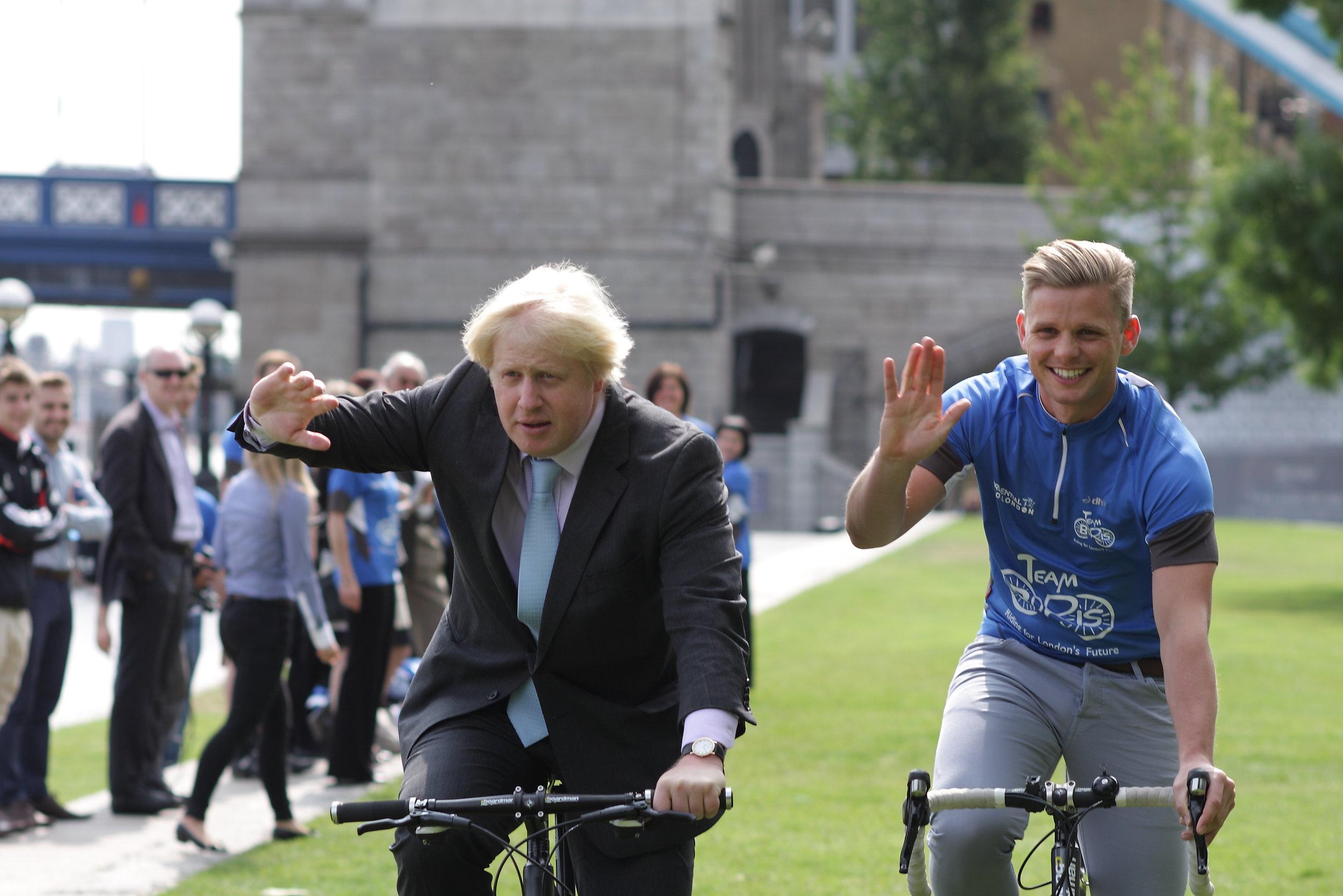 Boris Johnson and Jeff Brazier in training for Team Boris (002).jpg