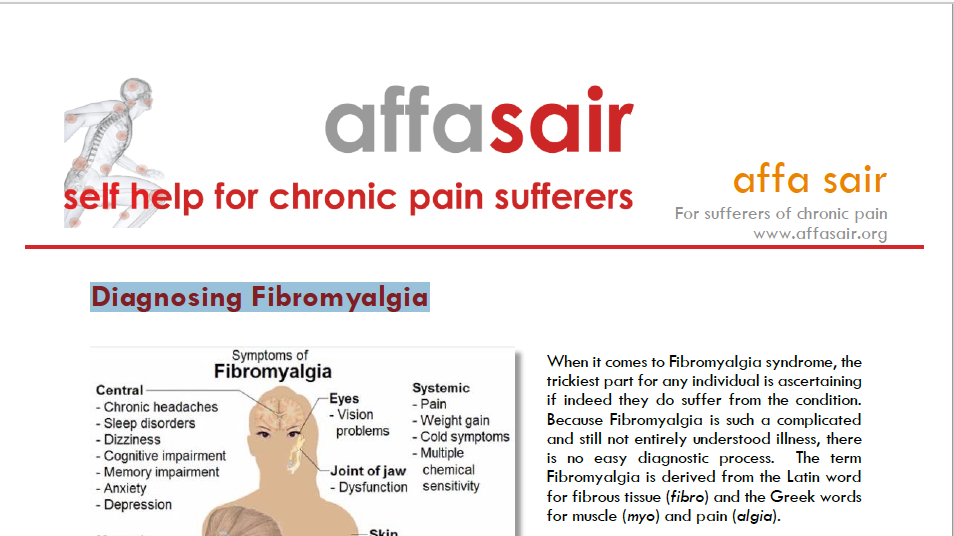 Diagnosing Fibromyalgia