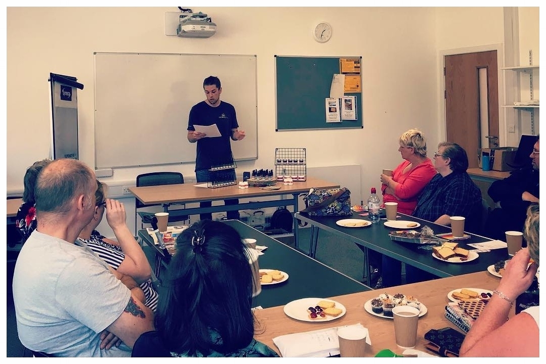 - On 31st August 2018, The Wee Hemp Company came along to our monthly meeting at Moray College to tell us about their company and products.
