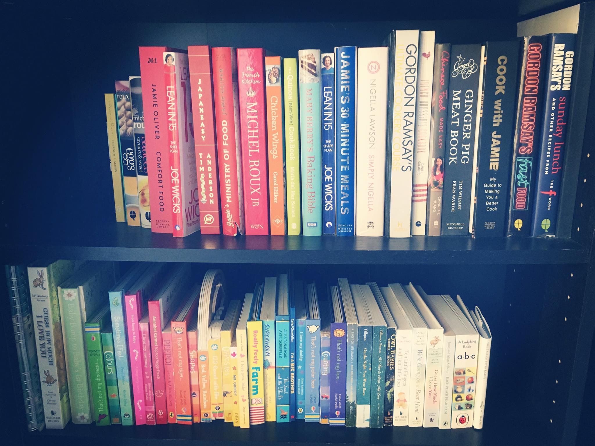 Katrina's bookcase